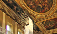 Banqueting House, London: Survey of ceiling construction
