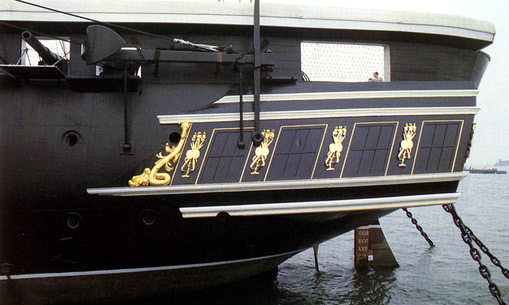 HMS Warrior: Portsmouth Dock