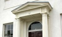Marlborough House, Brighton: portico