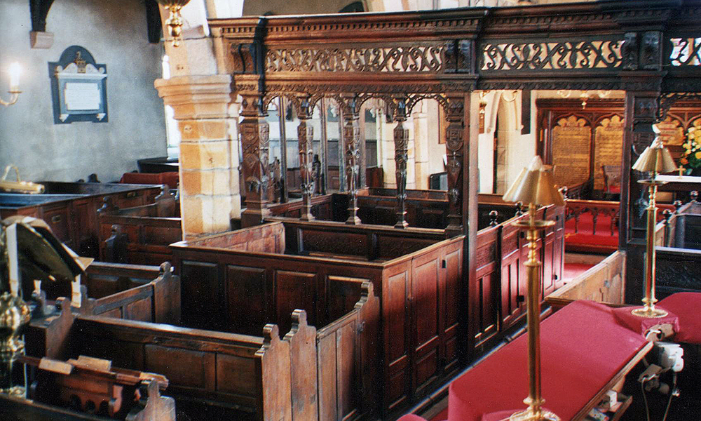 St Andrew's Church, Slaidburn, Lancashire: Survey of significance of pews
