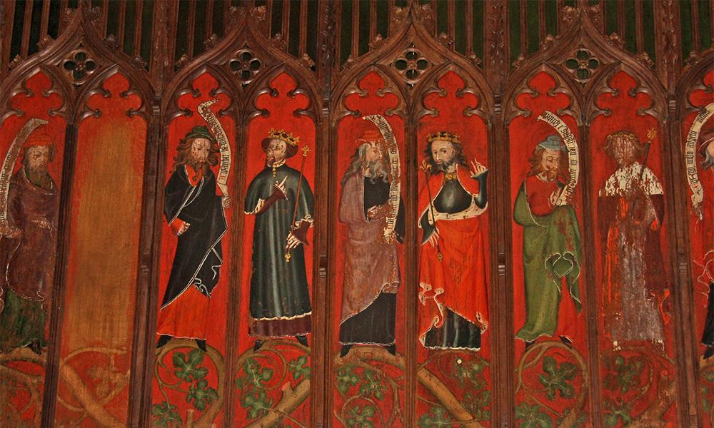 St Helen's, Abingdon, Oxon: Lady Chapel Ceiling